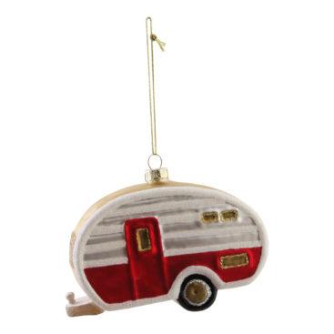 Campingvogn-julekugle