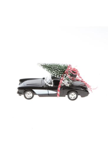Julebil-med-juletrae-paa-taget-sort