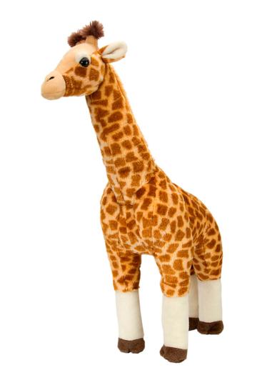 Giraf-bamse-i-laekkert-plys