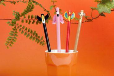 sjove-blyanter-med-tropiske-dyr