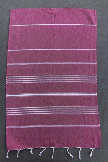 pink-farvet-hammam-haandklaede-i-lille-stoerrelse