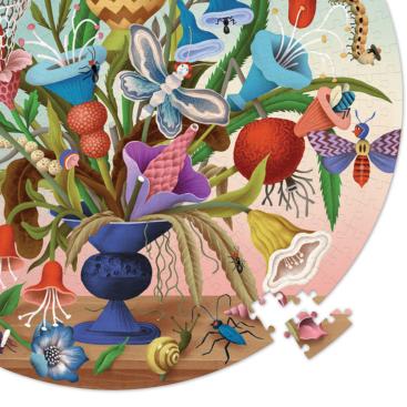 flot-rundt-puslespil-med-blomster