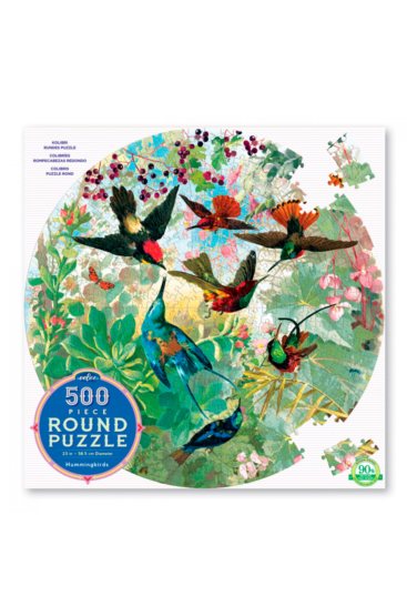 Rundt-puslespil-med-kolibrier