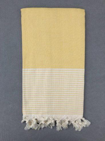 flot-gult-hammam-haandklaede