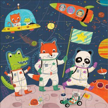 sjovt-astronaut-puslespil-til-boern