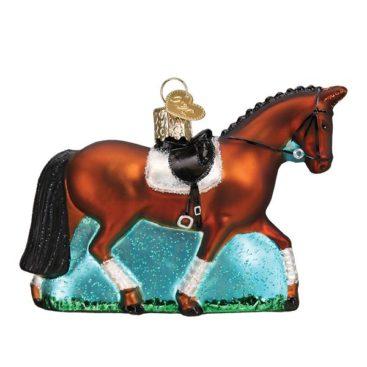 hest-julekugle