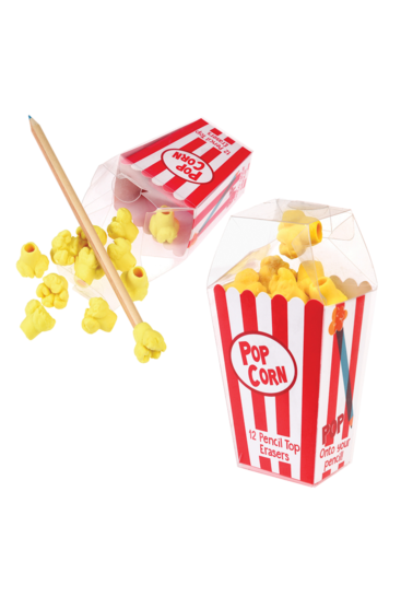 Viskelaeder-popcorn