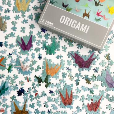 Cloudberries-puslespil-origami