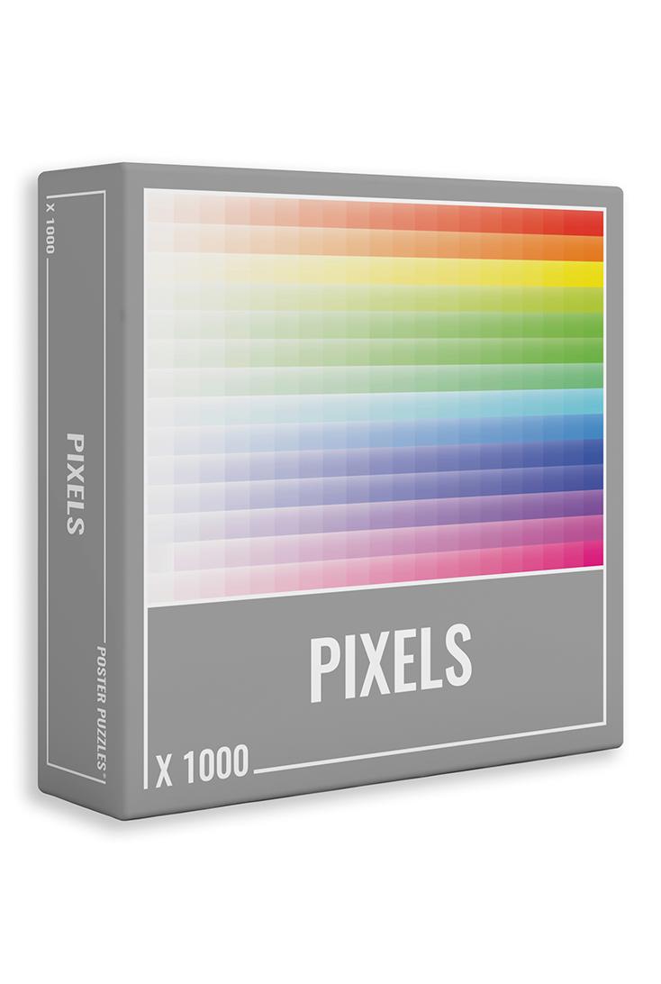 pixels-puslespil