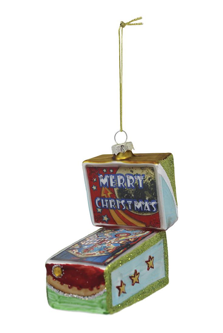 spillemaskine-julekugle