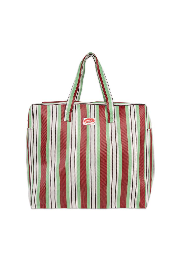 travel-bag-groen-strib