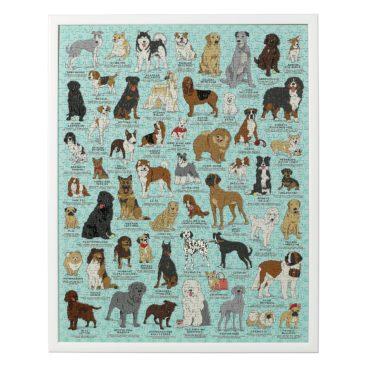 Hunde-puslespil