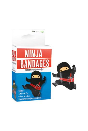 Plaster-med-ninja