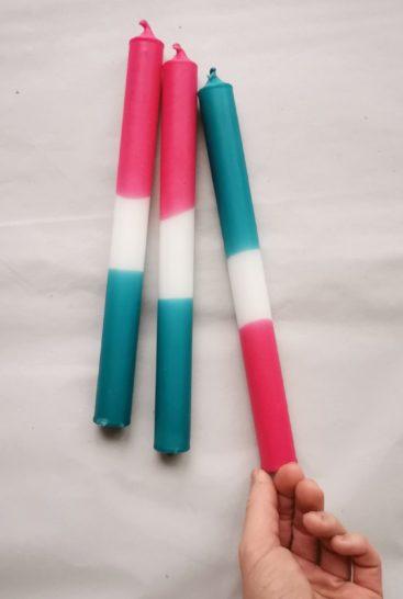 flerfarvede-stearinlys