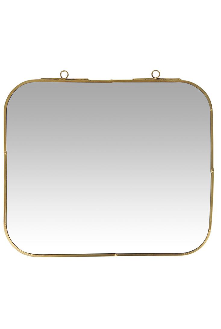 Facetslebet-spejl