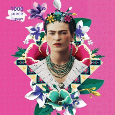 Pink-Frida-Kahlo-puslespil
