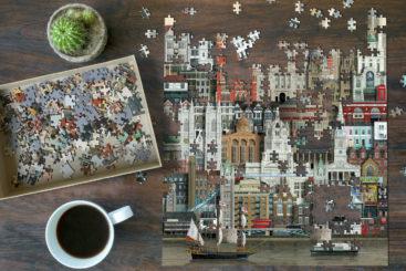 London-puslespil-1000-brikker