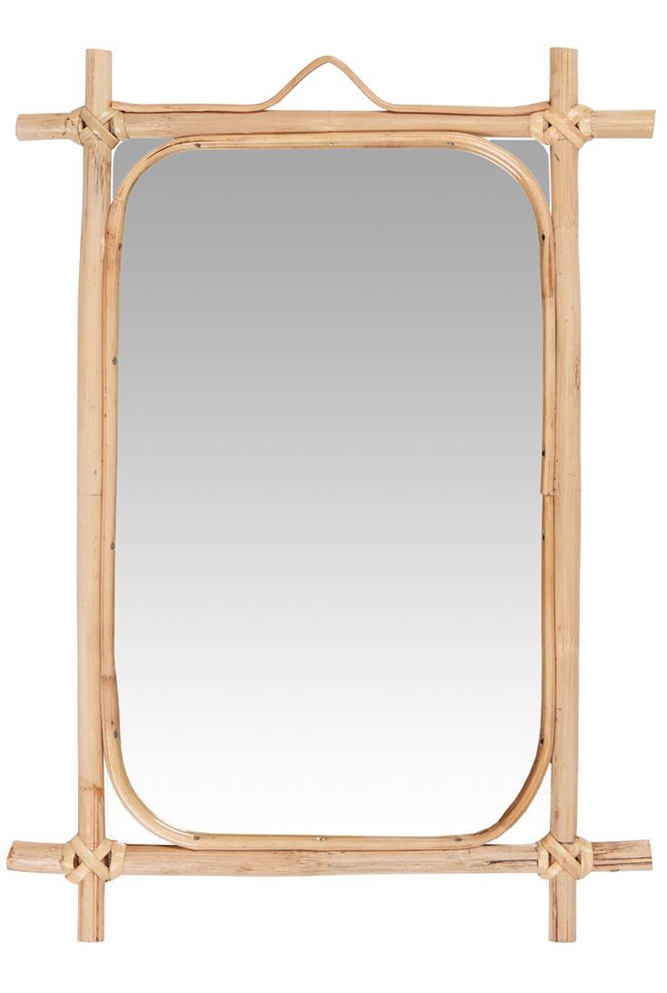 Spejl-med-bambuskant