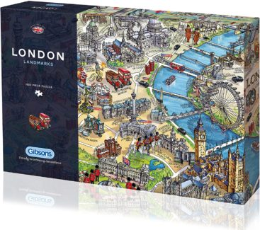 London-puslespil