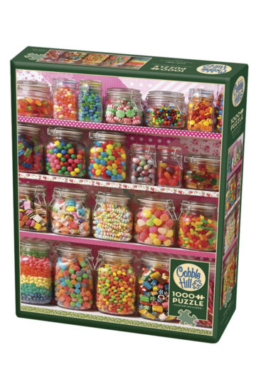 Candy-shelf-puslespil