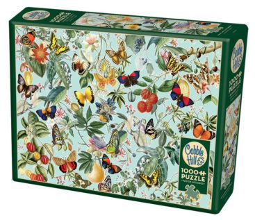 sommerfugle-puslespil