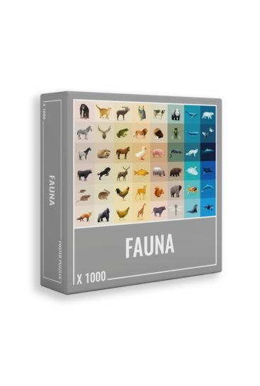 Fauna-puslespil
