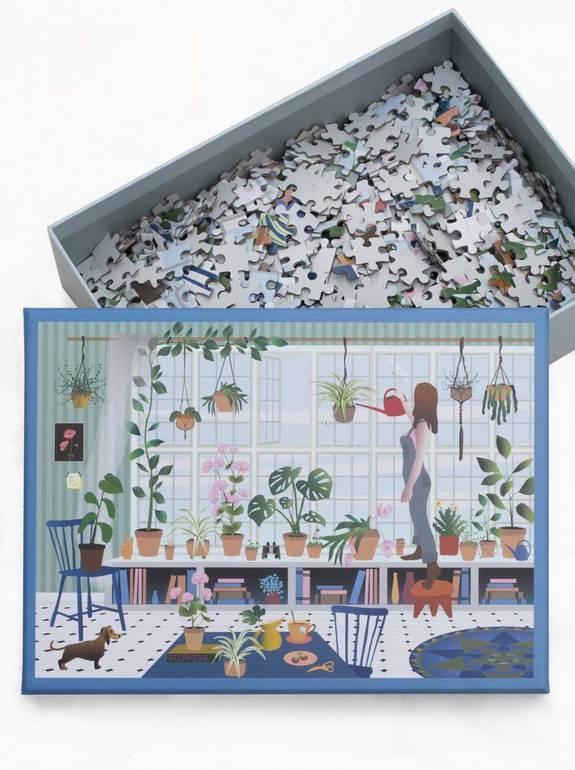 Plant-lover-puslespil