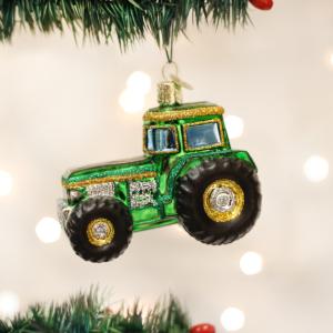 groen-traktor-julekugle