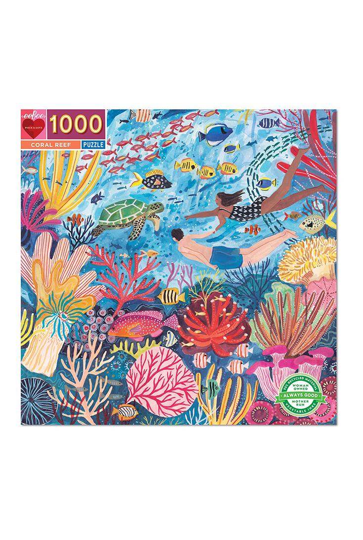 Koralrev-puslespil