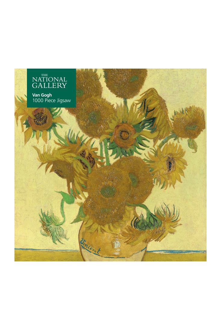 Sunflowers-puslespil