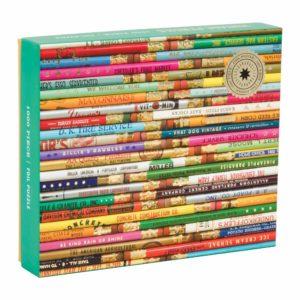 phat-dog-vintage-pencils-1000-piece-foil-stamped-puzzle-foil-puzzles-galison