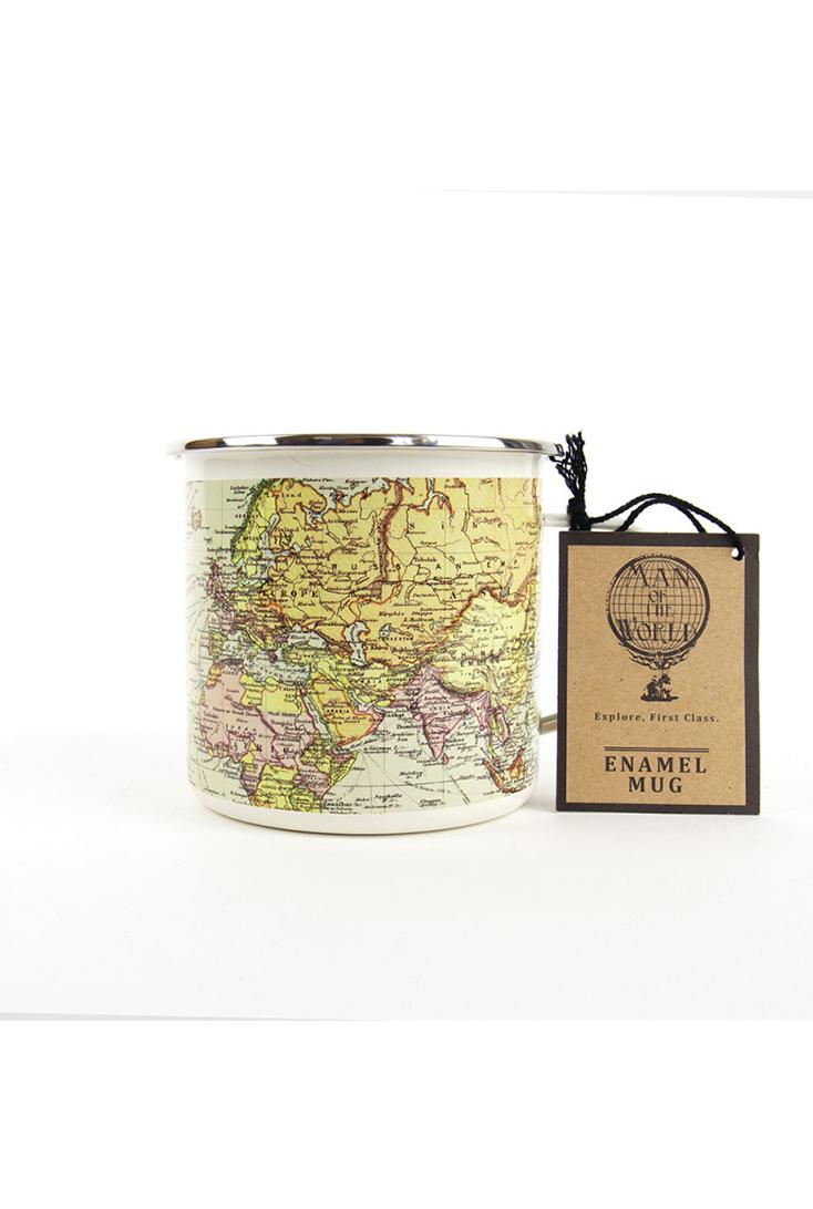 Emaljekrus-verdenskort