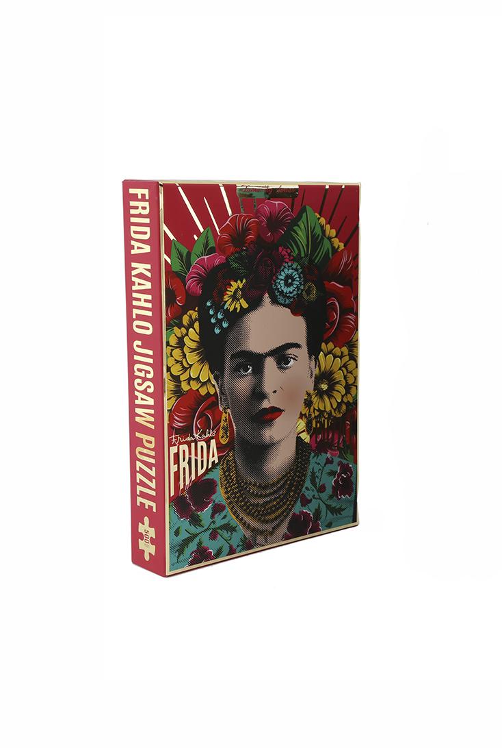 Frida-rød-puslespil-500