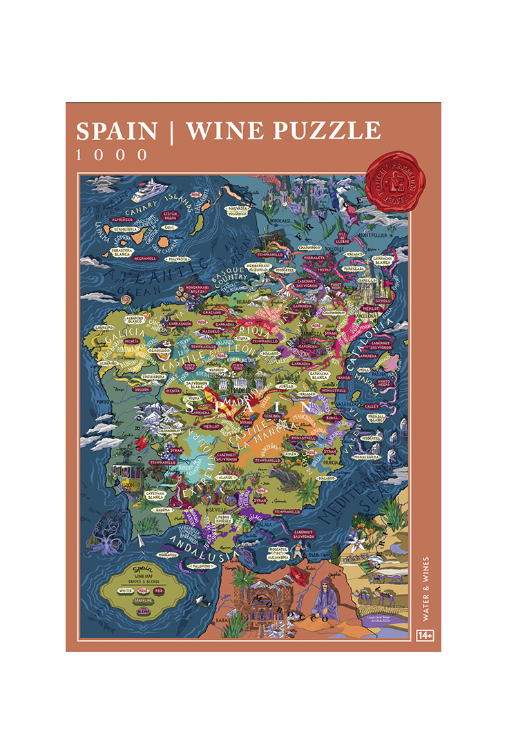 Spain-puslespil