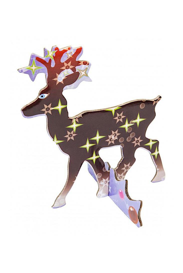 Rensdyr-jule-kort