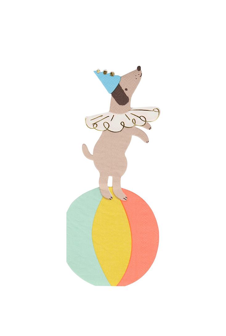 circus-hund-serviet