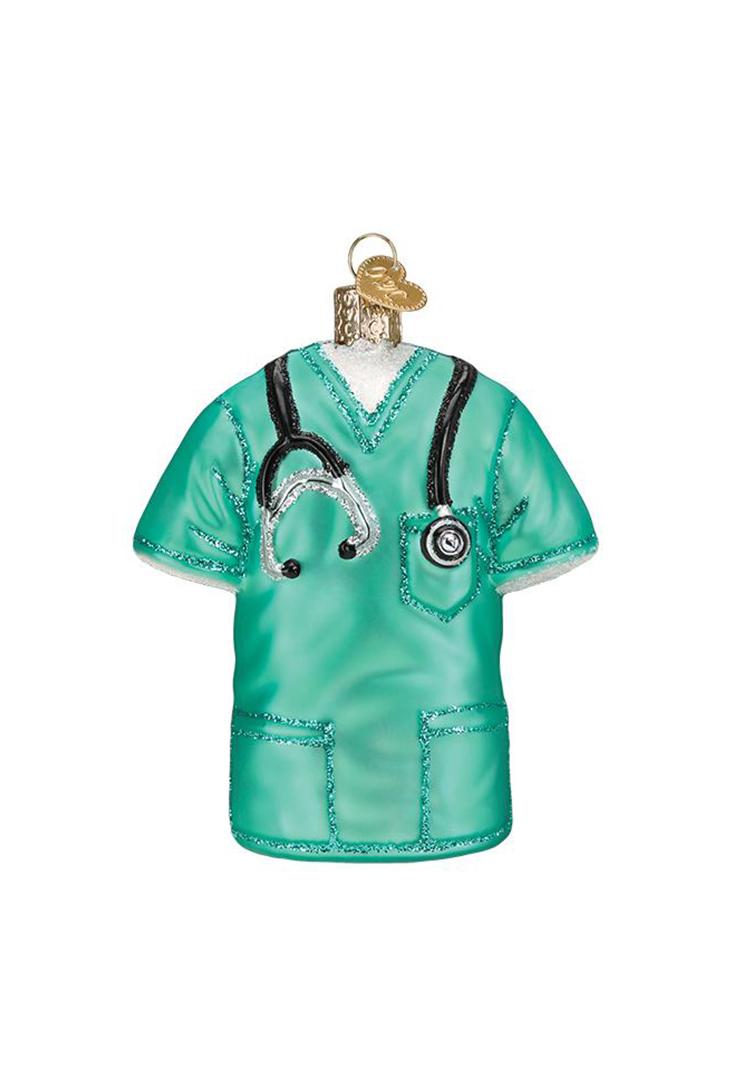 scrubs-dr-ornament
