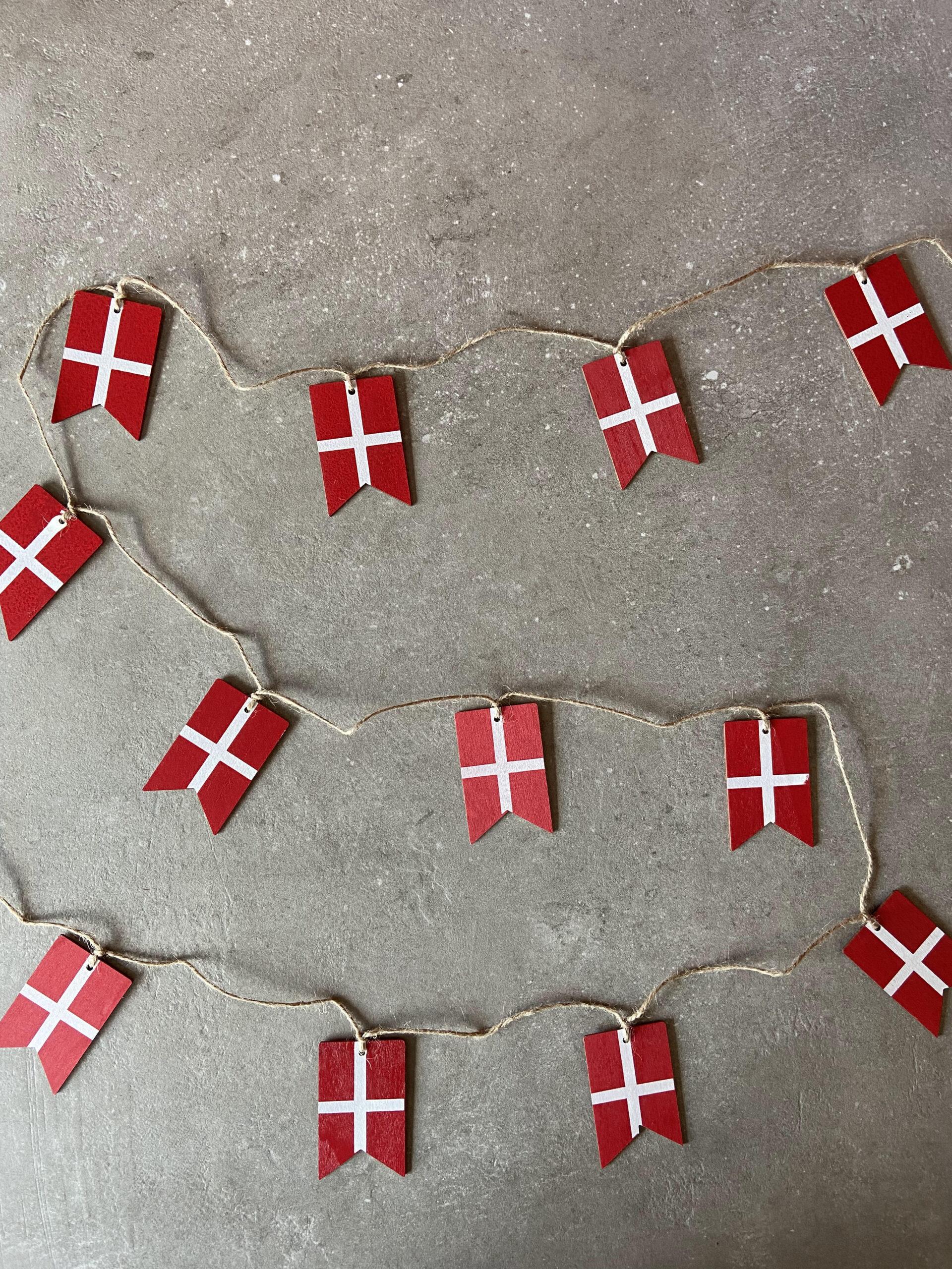 Flagguirlande-trae